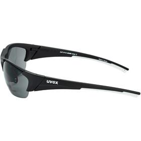 UVEX Blaze III Occhiali, black mat/smoke